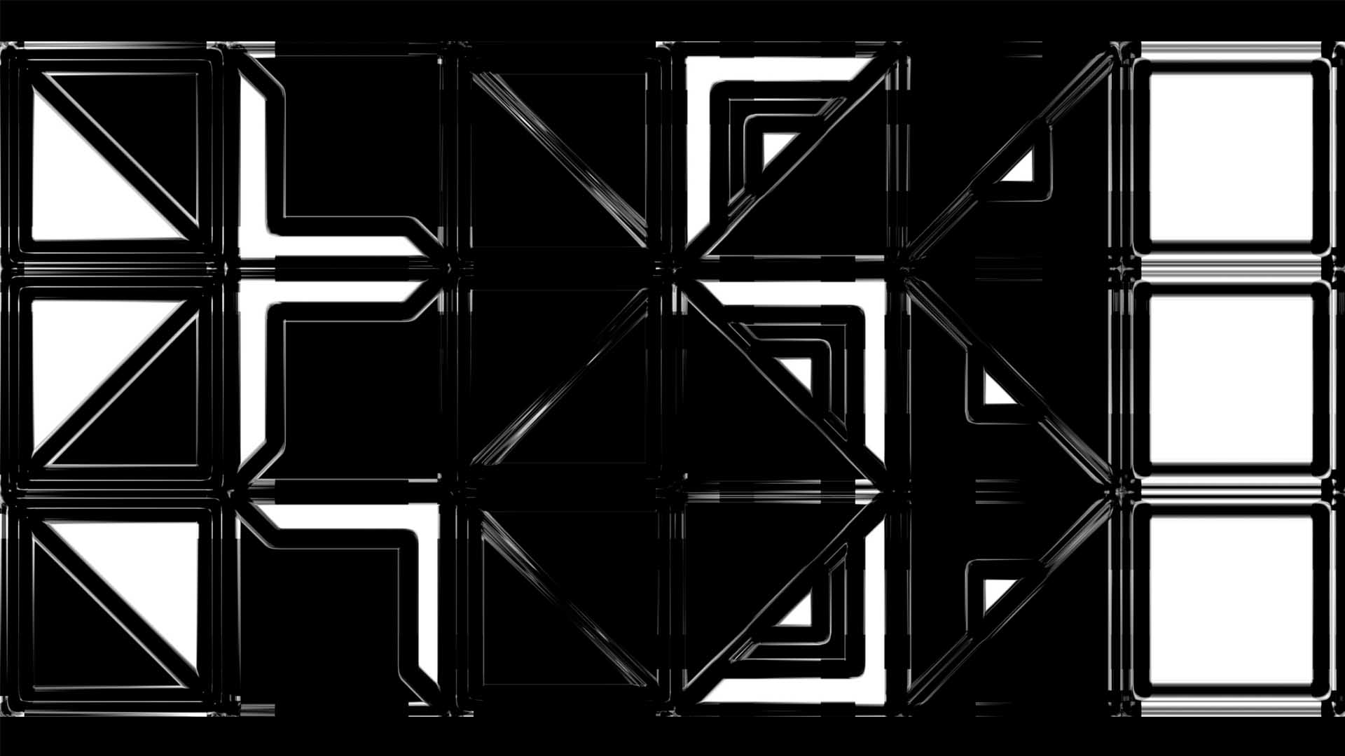video mapping 3D stock Footage