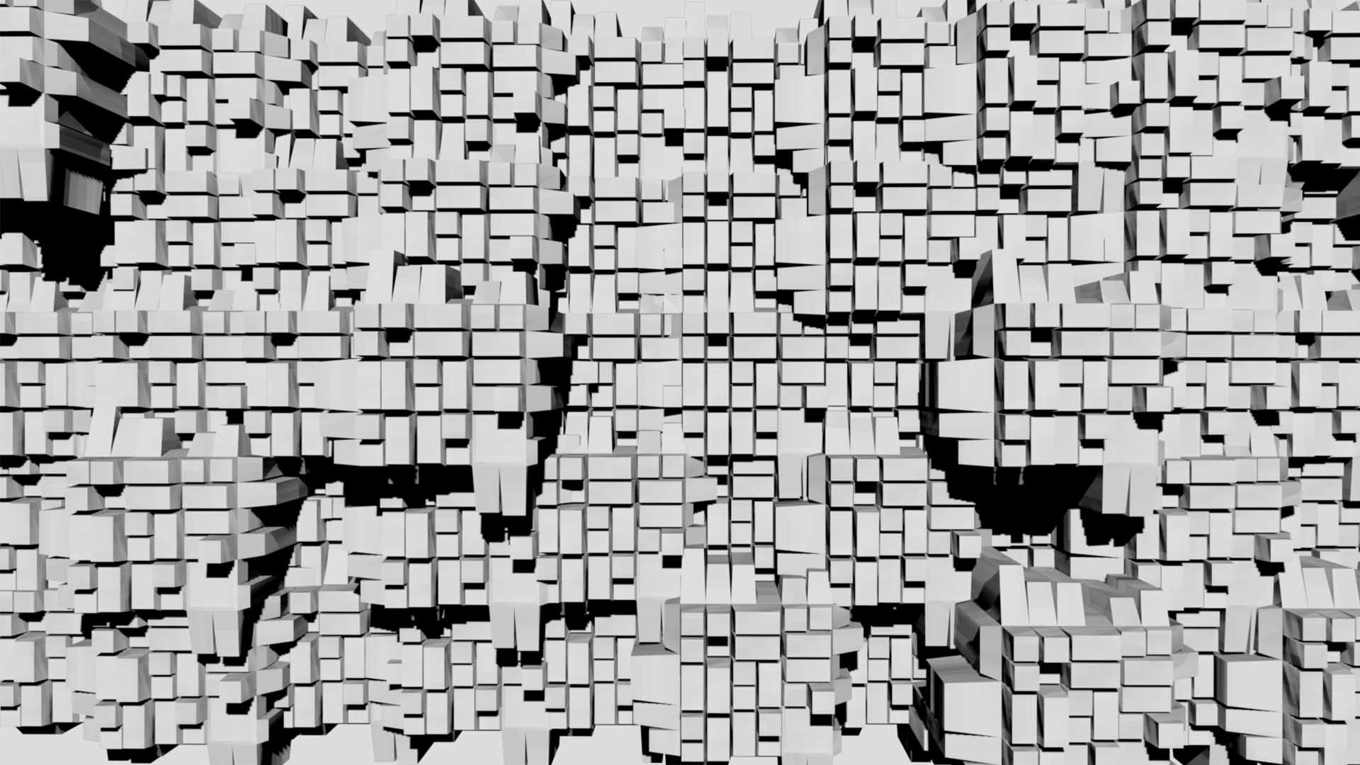 video mapping 3d displace map extrude