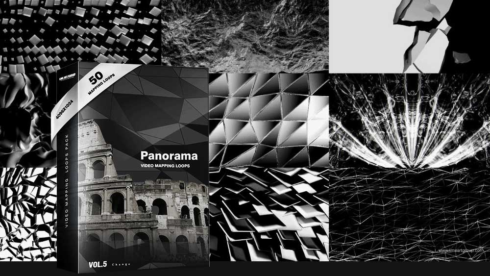 Panorama-ultra-wide-video-mapping-visuals