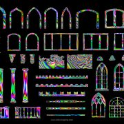 psychedelic video mapping