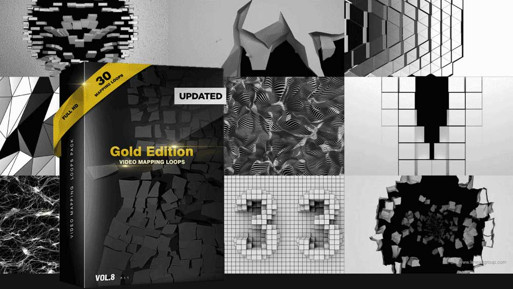 Video-Mapping-Projection-Loops-Gold-Edition-3D