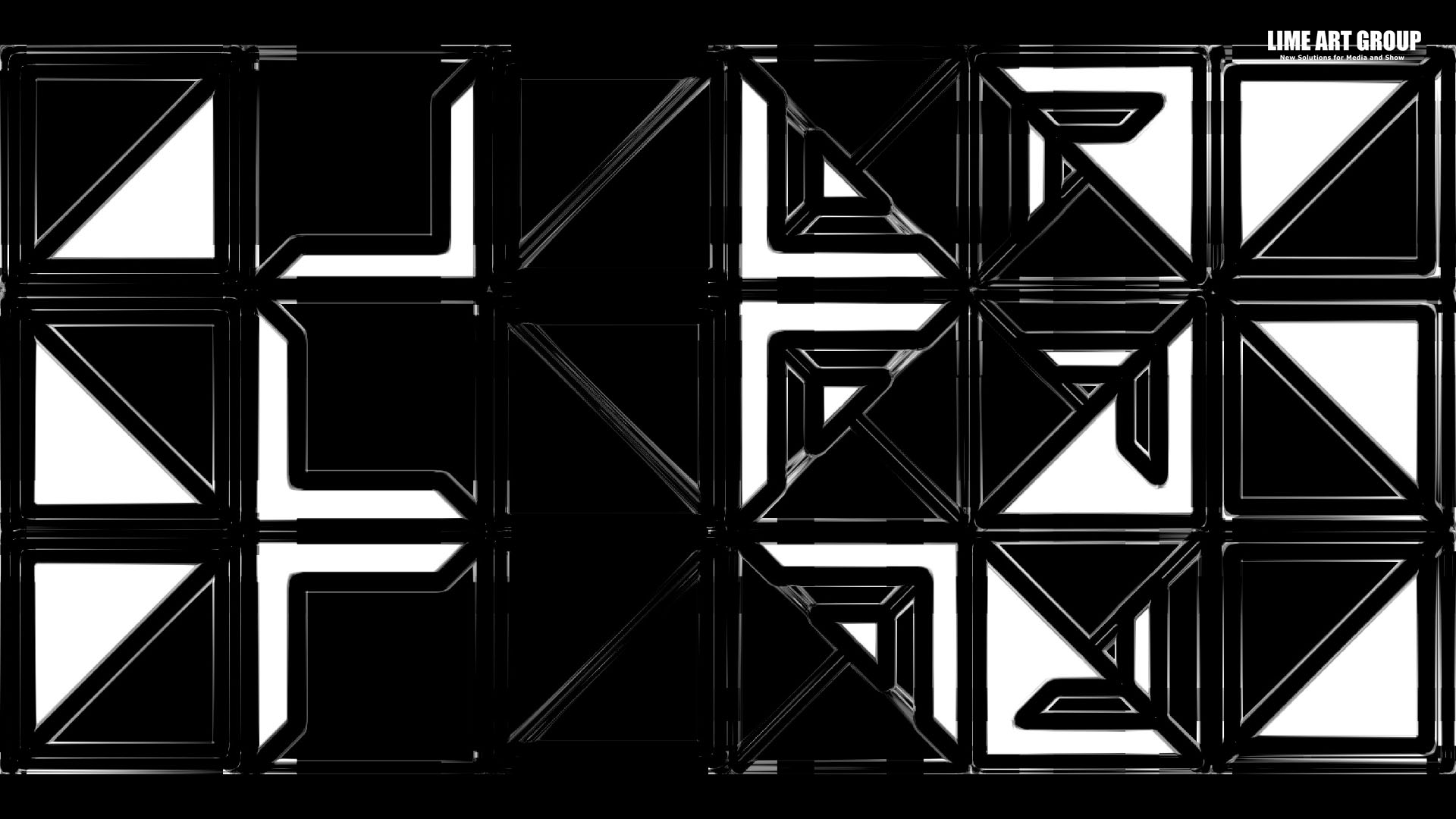 Displace Maps - Video Mapping Loops Pack Vol 7: 3D Visuals