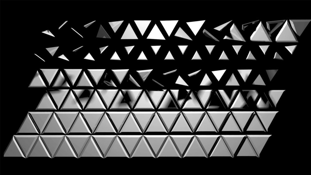 Video Mapping 3D Visuals Rotating geometry