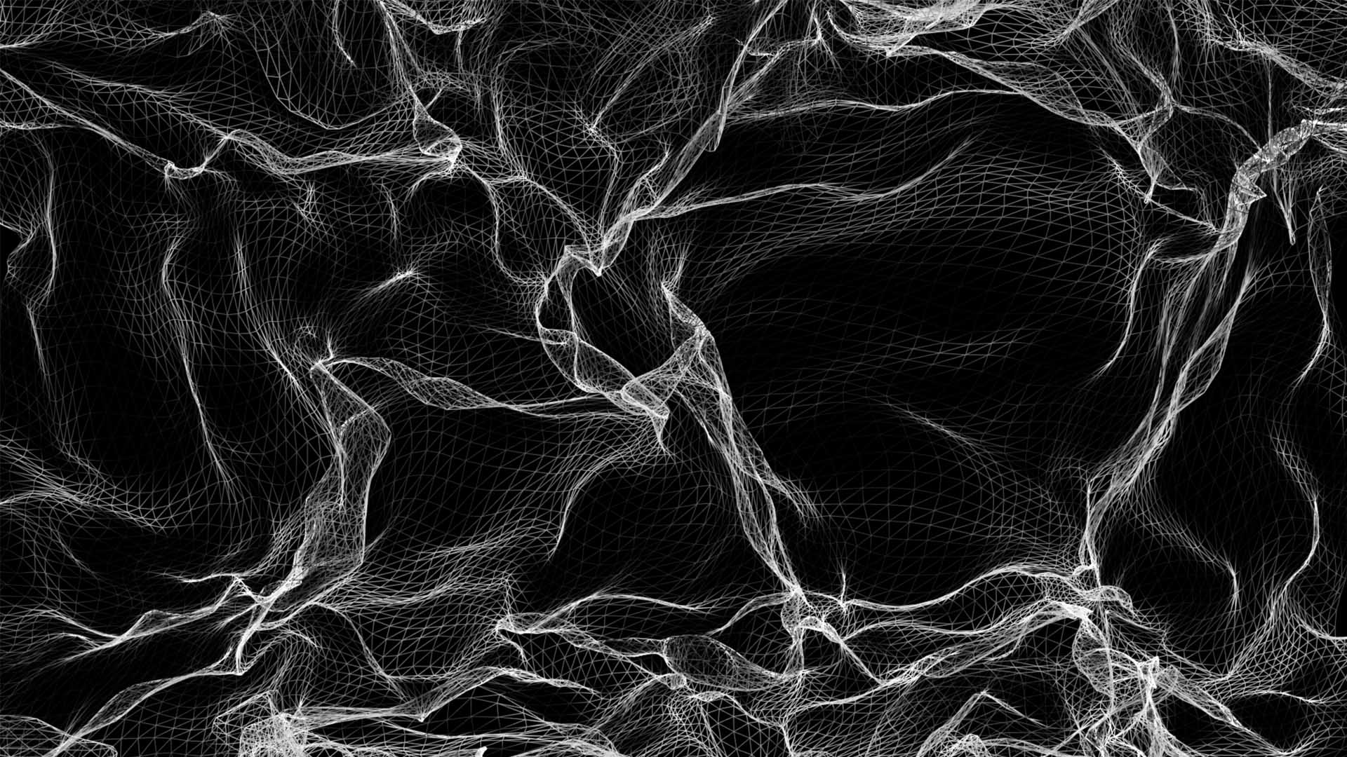 line wireframe texture pattern projection