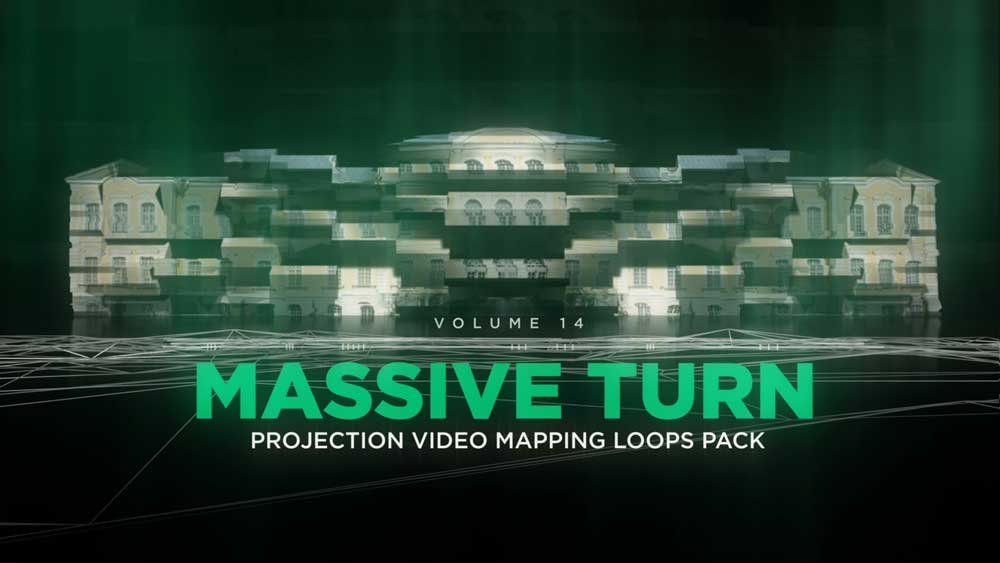 video mapping 3d loops