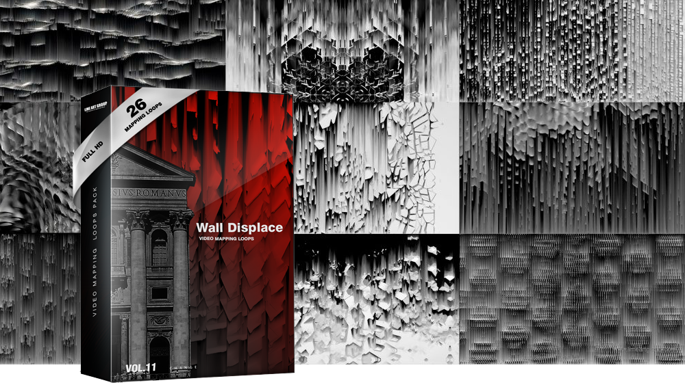 displace vj mapping