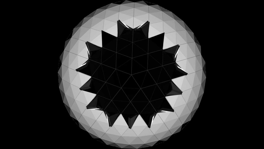 Projection mapping loops fulldome