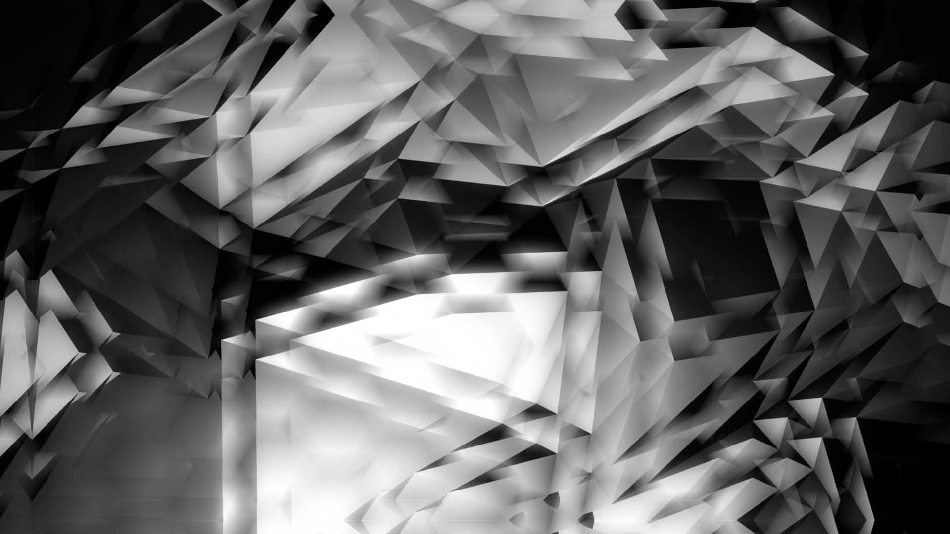 Polygonal-background-pattern-projection-mapping-loop
