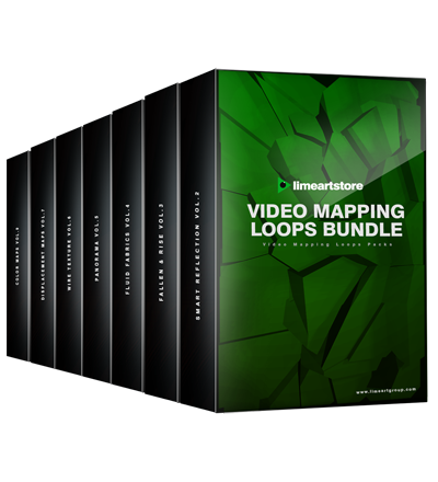 Video-loops-mapping-bundle