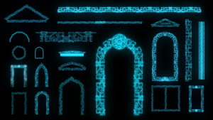 islam video mapping projection