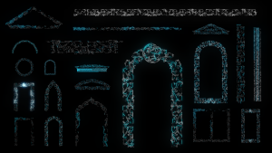 arab video mapping projection