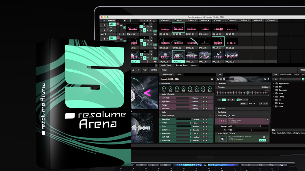 resolume similar software