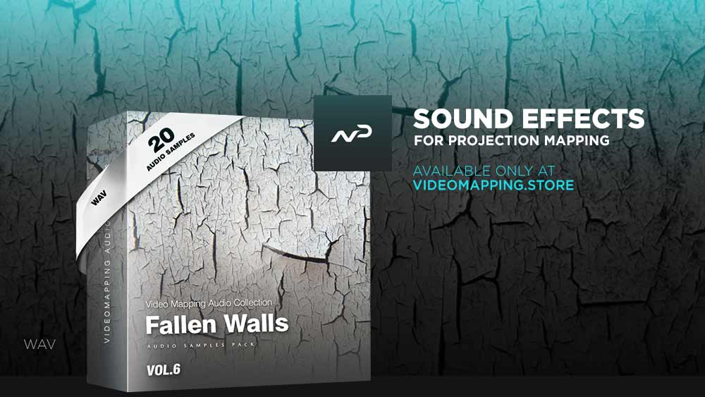Videomapping-sound-effects-Fallen-Walls