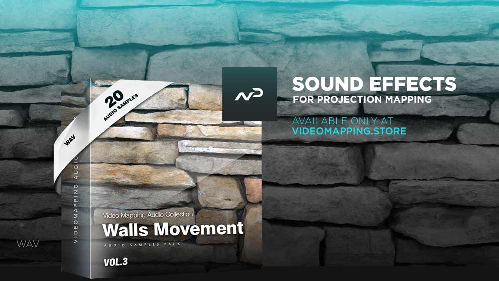 Videomapping-sound-effects-wall-movement