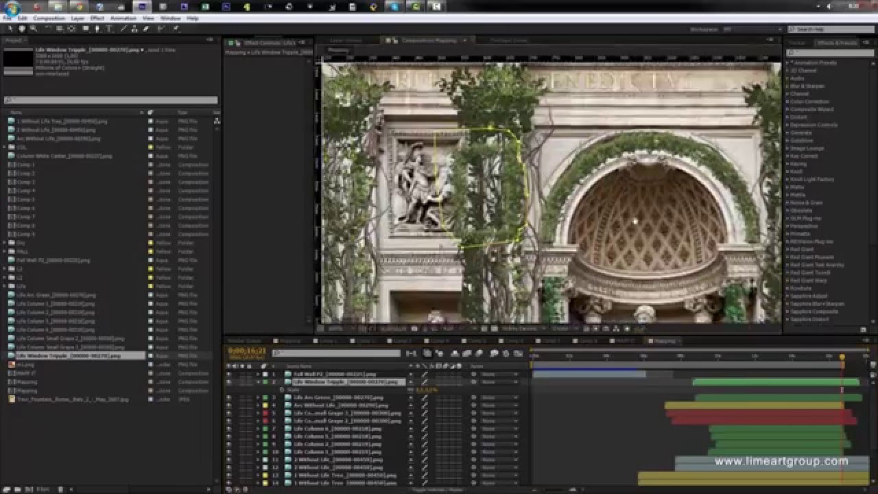 Flourish Effect - Projection Mapping Tutorial #2: 3d Mapping