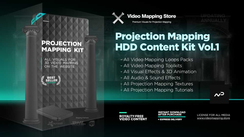 Projection-Mapping-Kit