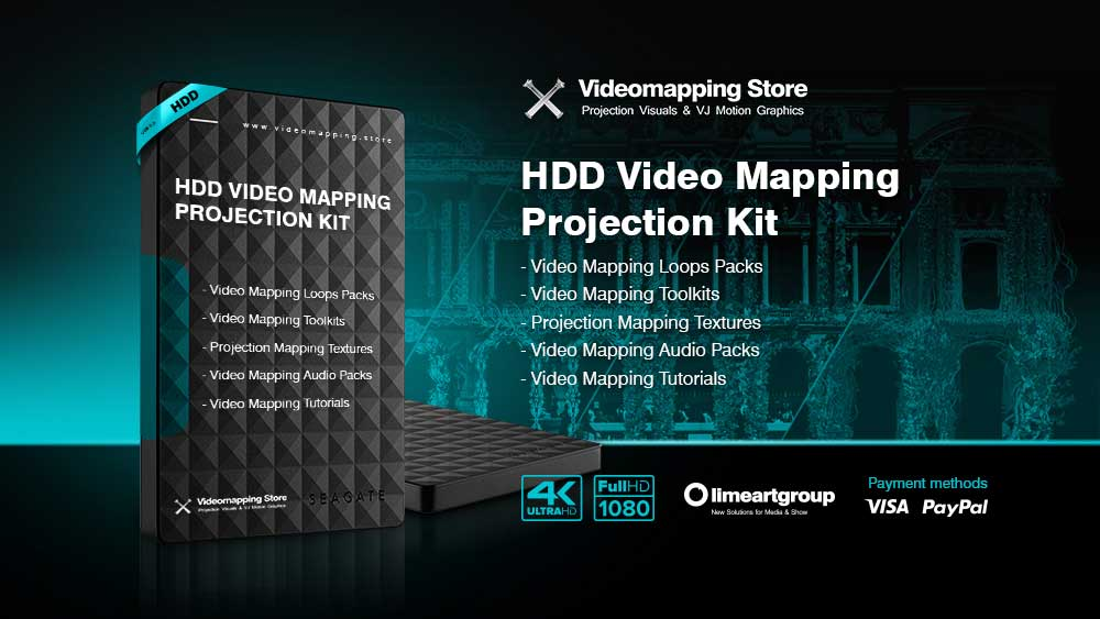Projection-mapping-HDD-kit