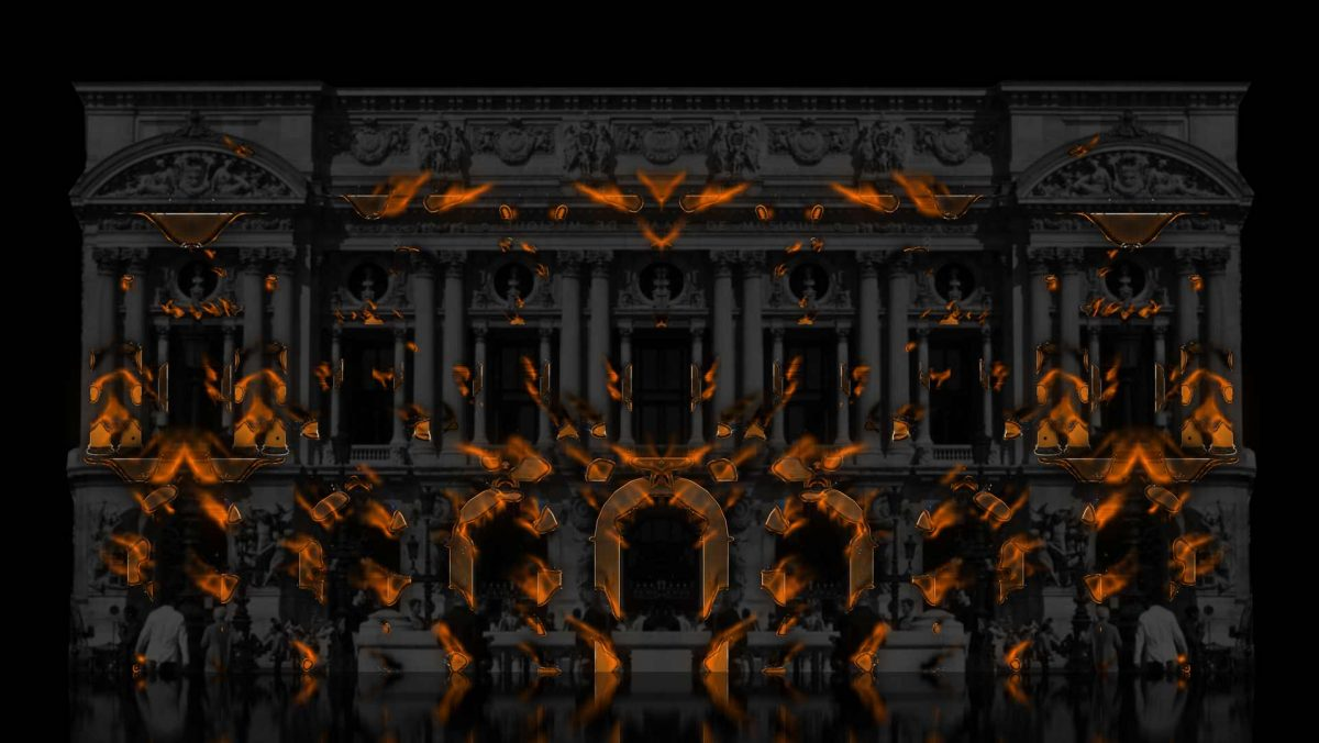 video mapping projection 3d