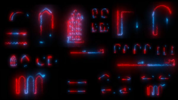After Effects Animation for Projection 3D Video Mapping: AE Visuals