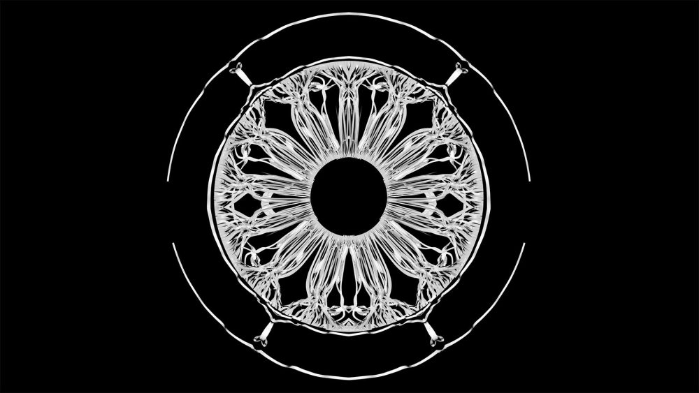 video mapping loop fulldome