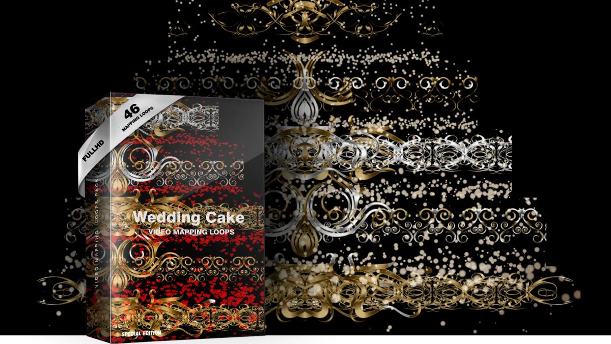 videomapping-wedding-cake