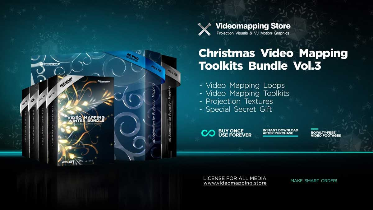 Christmas-Video-Mapping-Bundle