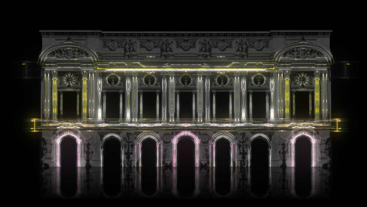 Artificially intelligent Video Mapping Projection