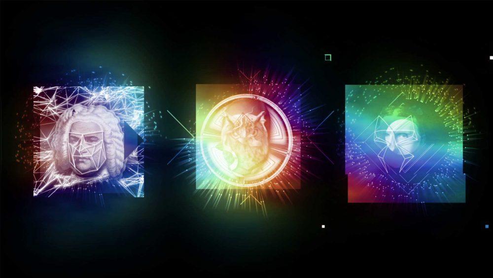 hologram vj loop