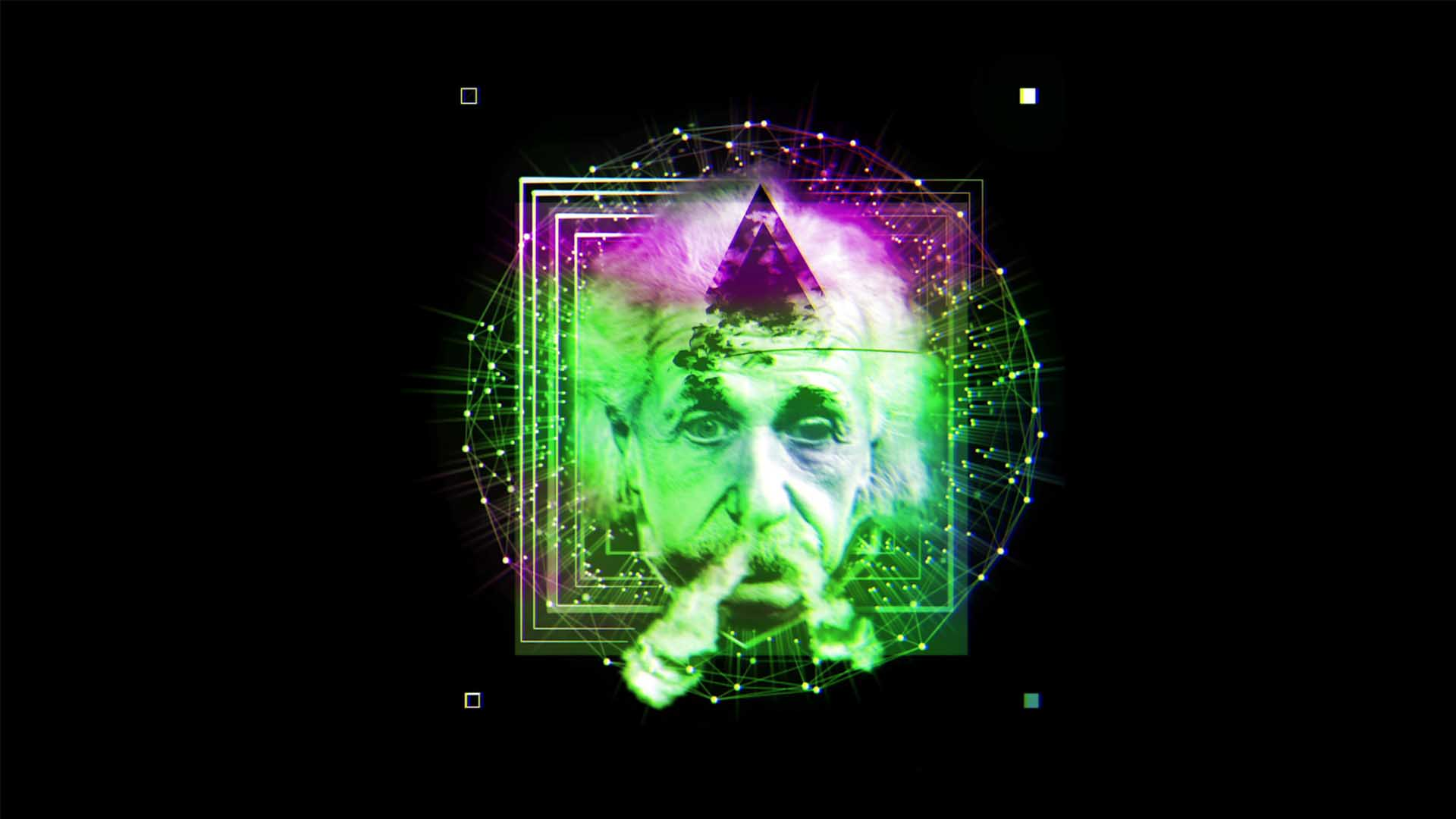 hologram holographic video projection visuals