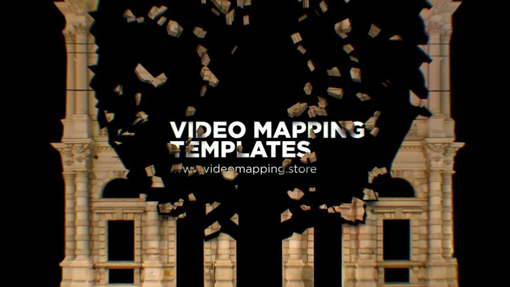Projection-Video-Mapping_Template