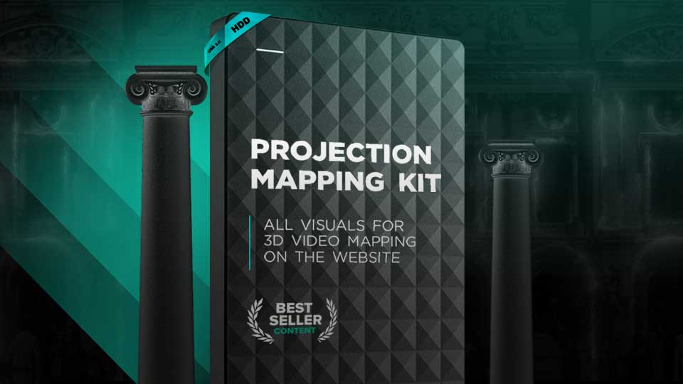 Projection mapping kits