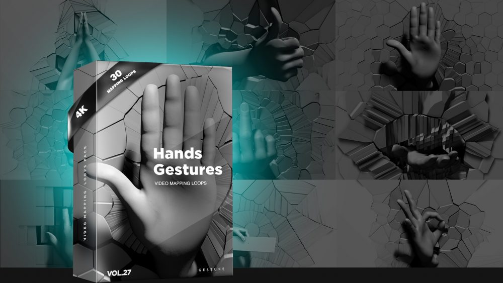 mapping loops hand gestures