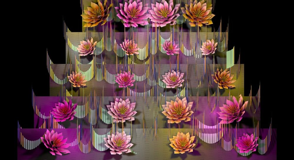Sugar Textures- Video Mapping Wedding Cake Visuals Vol.4