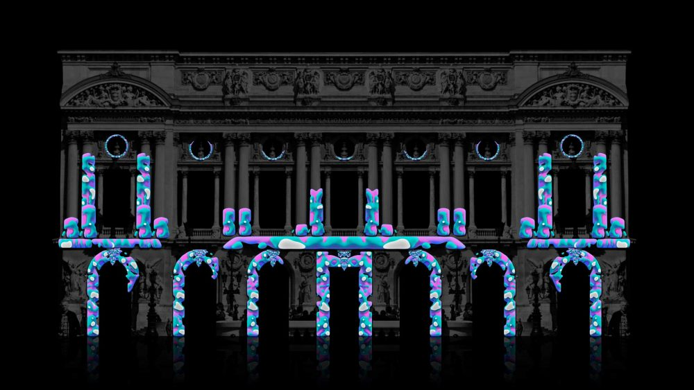 paint splash projection mapping toolkit