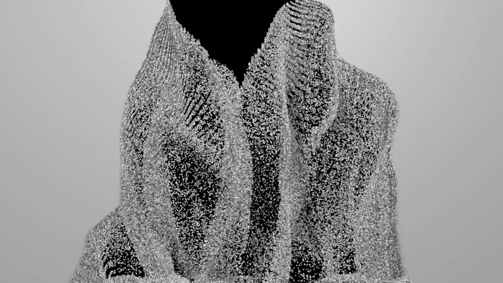 Displace-dust-video-mapping-loop